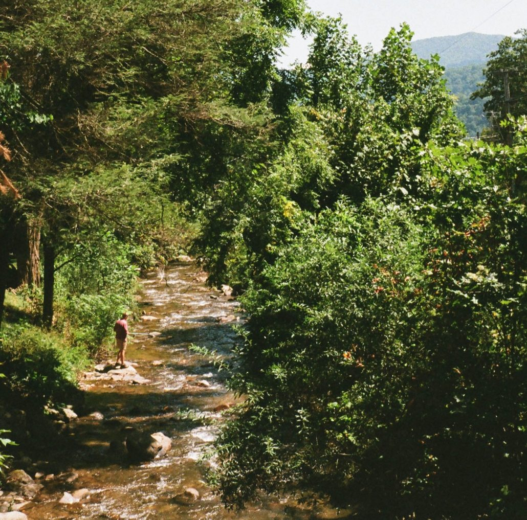 Jonathan Creek near Route 19 Inn