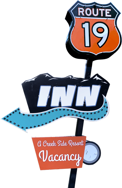 Route 19 Inn Sign