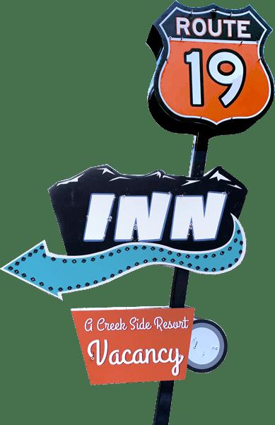 Route 19 Inn Sign